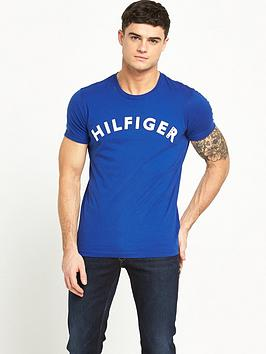 hilfiger-denim-crew-neck-logo-t-shirt