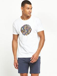 pretty-green-paisley-logo-t-shirt