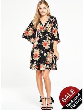 v-by-very-printed-wrap-dress