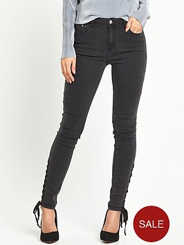 glamorous-tie-side-jeans