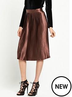 glamorous-pleated-midi-skirt