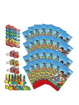 paw-patrol-paw-patrol-pack-of-16-party-bags-amp-48-favours
