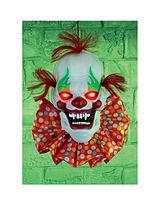 Battery Operated Talking Clown Head 32cm