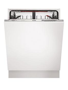 Aeg Favorit F67622Vi0P FullSize Integrated Dishwasher  White