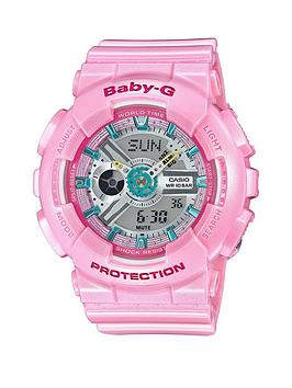 Casio Casio Baby G Pretty Tough Pink Multi Dial Ladies Watch