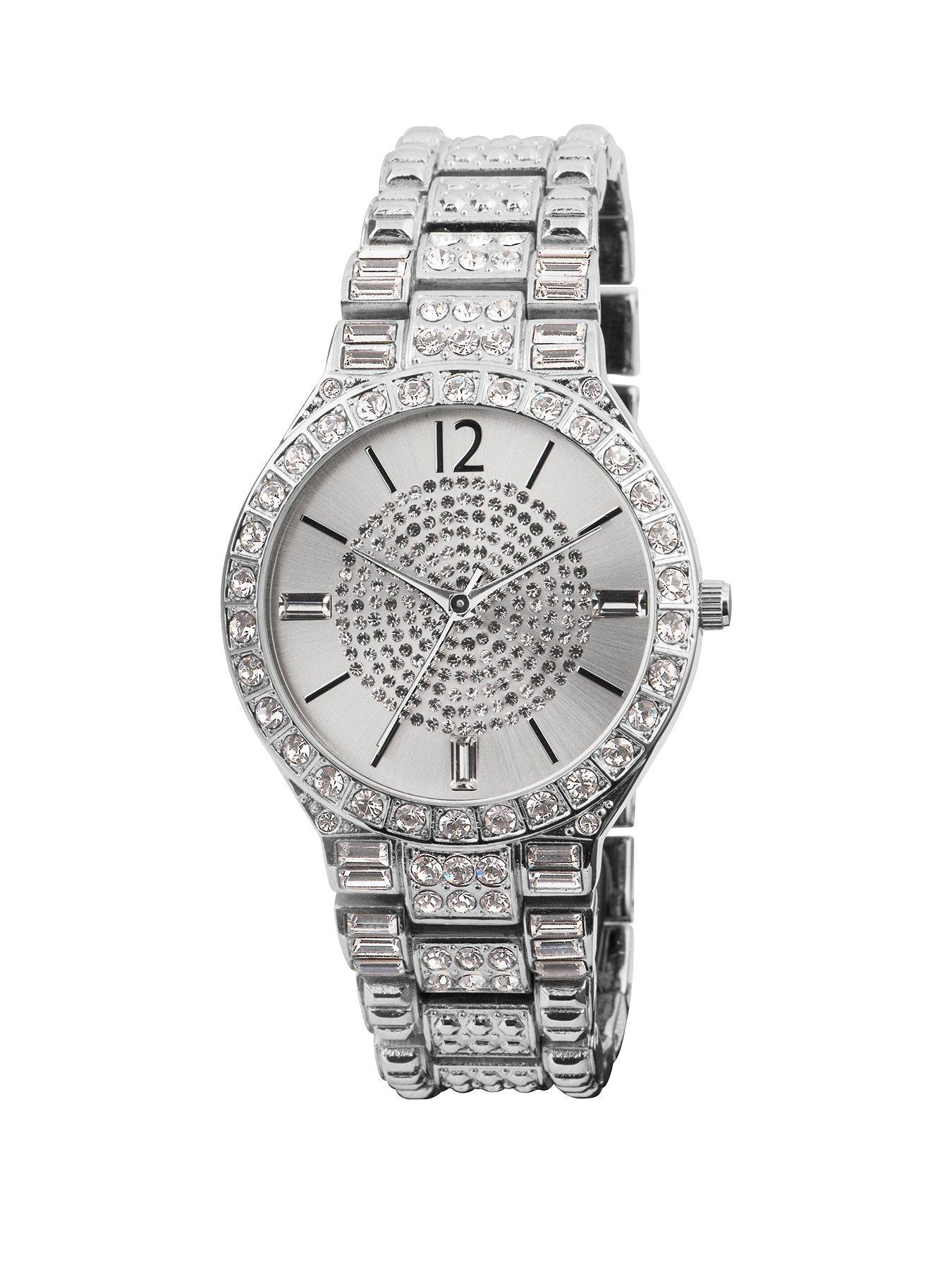 Spirit Silver Tone Dial Bracelet Womens Watch