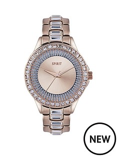 spirit-rose-and-blue-tone-dial-rose-tone-bracelet-ladies-watch