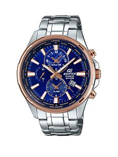 casio-casio-edifice-blue-dial-rose-tone-accents-stainless-steel-bracelet-watch