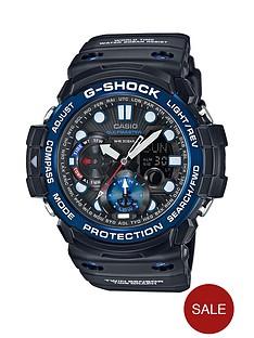 casio-g-shock-gulfmaster-black-multi-dial-blue-bezel-black-strap-mens-watch