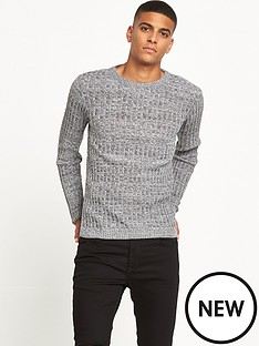 river-island-ribbed-crew-neck-jumper