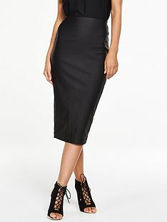 v-by-very-high-waisted-zip-back-pencil-skirt