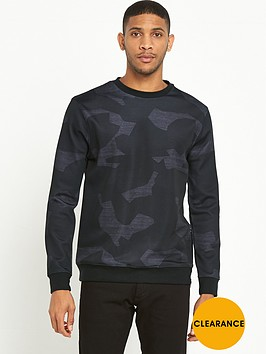 river-island-camo-print-scuba-sweat-top