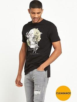 river-island-longline-skull-print-tshirt