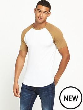 river-island-muscle-fit-raglan-tshirt