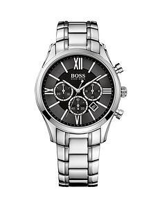 hugo-boss-black-hugo-boss-boss-black-ambassador-black-dial-chronograph-stainless-steel-bracelet-mens-watch