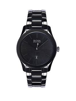 hugo-boss-black-hugo-boss-boss-black-ambassador-black-dial-black-stainless-steel-bracelet-mens-watch