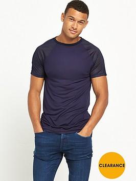 river-island-short-sleeve-mesh-raglan-tshirt