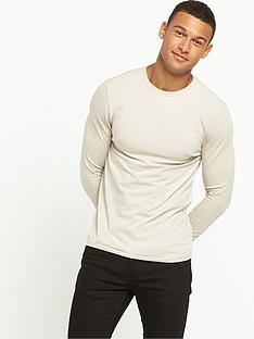 river-island-muscle-fit-long-sleeve-tshirt