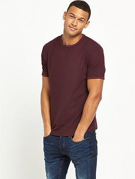 river-island-short-sleeve-waffle-tshirt