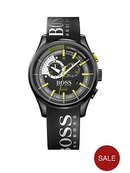 hugo-boss-black-hugo-boss-boss-black-yachting-timer-ll-black-dial-green-accents-mens-watch