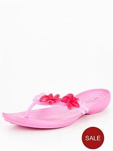 crocs-isabella-embellished-flip