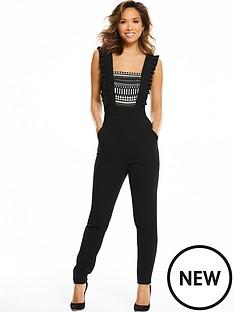 myleene-klass-sleeveless-front-lace-jumpsuit