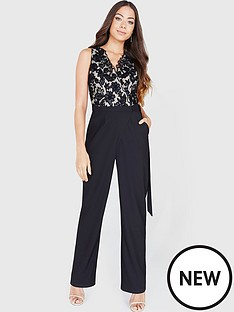 little-mistress-embroidered-wrap-front-jumpsuit