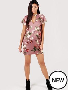 girls-on-film-tulip-print-shift-dress-with-keyhole