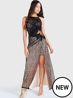 little-mistress-lace-appliqueacutenbspmaxi-dress