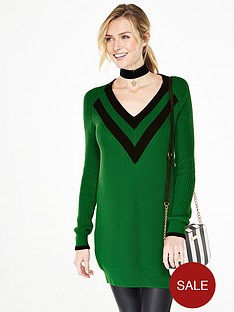v-by-very-deep-v-neck-contrast-stripe-tunic