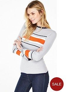 v-by-very-turtle-neck-ribbed-jumper-withnbspplacement-stripes