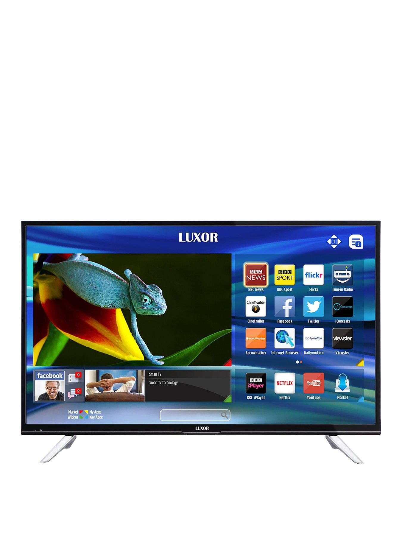 Compare cheap offers & prices of Luxor 43 Inch 4K Ultra HD Smart TV manufactured by Luxor