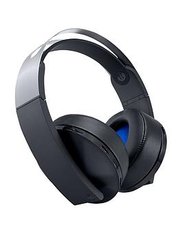 Playstation 4 Playstation 4 Wireless Platinum Headset Picture