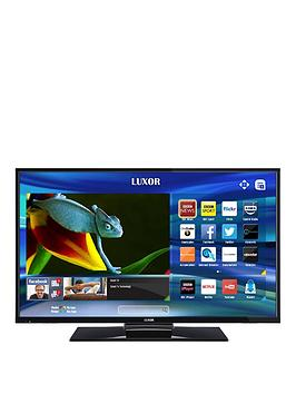 luxor 40 inch full hd smart combi tv with built in dvd. Black Bedroom Furniture Sets. Home Design Ideas