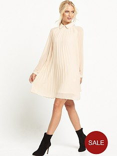 tfnc-collar-pleated-dress