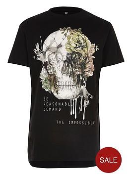 river-island-boys-black-skull-print-longline-t-shirt