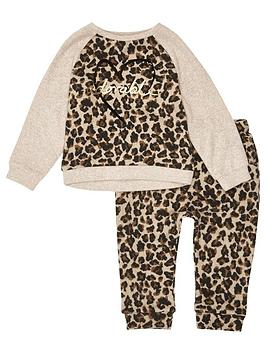 river-island-mini-girls-leopard-cosy-jumpernbspandnbspjoggers-set