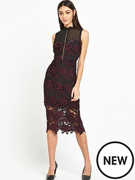 lost-ink-lost-ink-bailie-crochet-and-lace-mix-dress