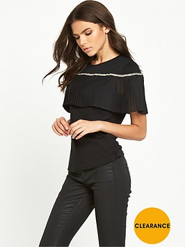 lost-ink-pleat-panel-emebllished-top
