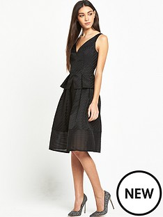 lost-ink-gabriella-textured-stripe-dress