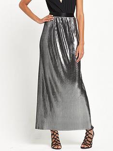 tfnc-andrea-maxi-skirt-metallic