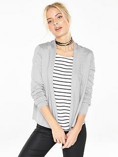 v-by-very-shawl-collar-short-cardigan
