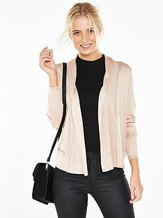 v-by-very-shawl-collar-short-cardigan