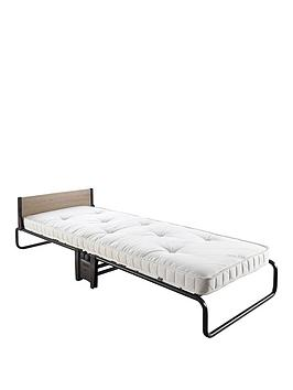 Jaybe Revolution Folding Single Bed With Pocket Sprung Mattress  Bedframe And Mattress