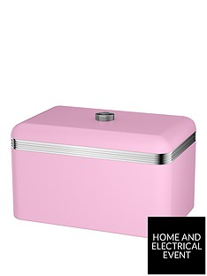swan-retro-bread-bin-ndash-pink