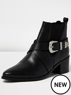 river-island-hamley-western-boot-black