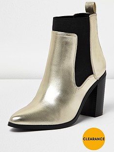river-island-navanbspchelsea-ankle-boot-gold