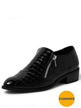 river-island-croc-zip-monk-shoe