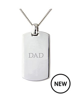 keepsafe-keepsafe-personalised-sterling-silver-diamond-set-tag-pendant
