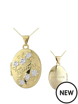 keepsafe-9ct-yellow-gold-mum-locket
